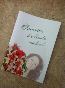 Blumen die Freude machen